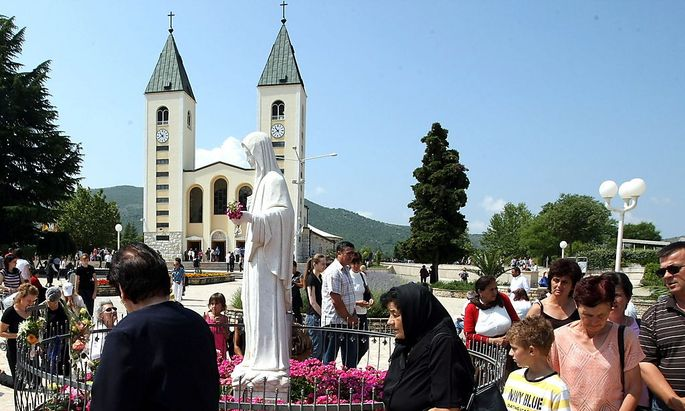 Angeblich neues Wunder in Medjugorje bosnien