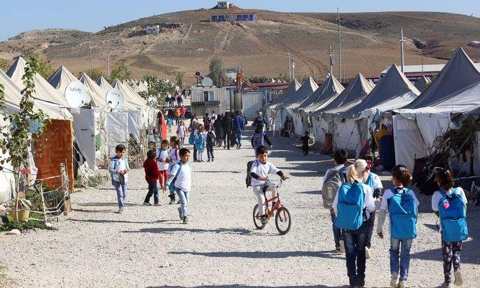 Türkisches Flüchtlingslager in Osmaniye
