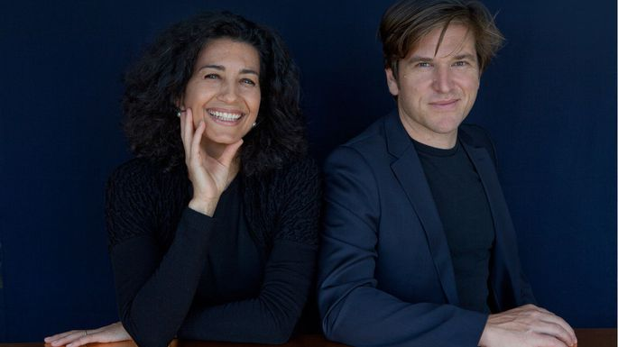 Porträt: Nada Nasrallah and Christian Horner
