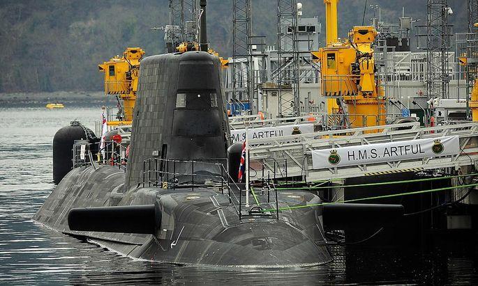 Die britische U-Boot-Flotte bekommt neue Nuklearwaffen.