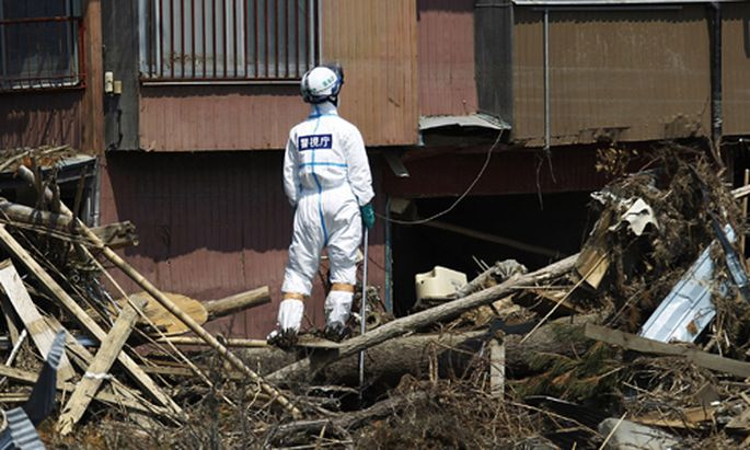 Forscher Ganz Japan erdbebenbedroht