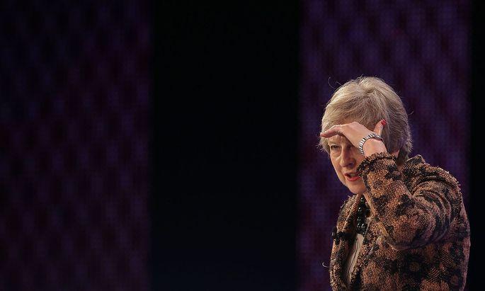 Theresa May musst nicht lange suchen, um ihre Gegner auszumachen.