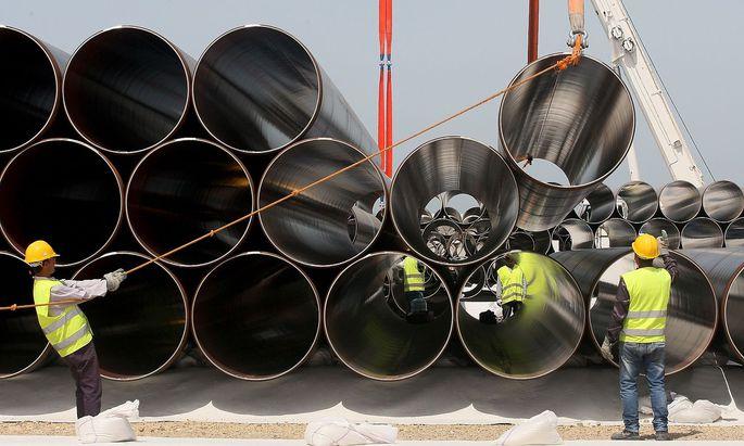 Die Nord Stream 2 ist den USA ein Dorn im Auge