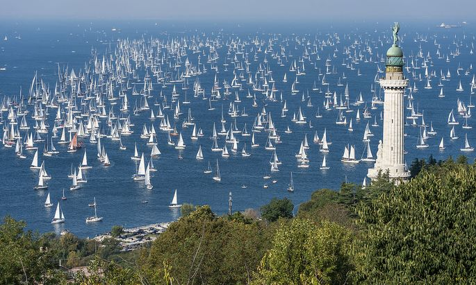 Mitte Oktober startet jedes Jahr die große Regatta im Golf von Triest. Heuer das 53. Mal.