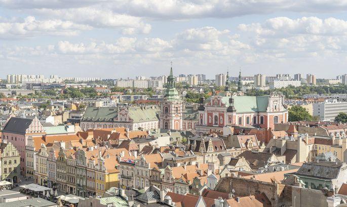 Blick über das polnische Posen