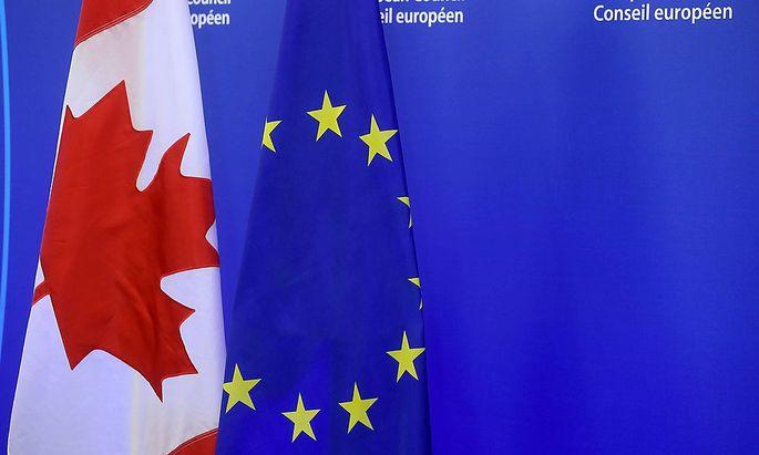Das Handelsabkommen zwischen EU und Kanada ist umstritten.