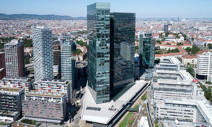Der Immofinanz-Firmensitz im Wiener Twin Tower.