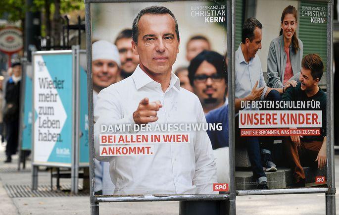 Themenbild: Wahlplakate