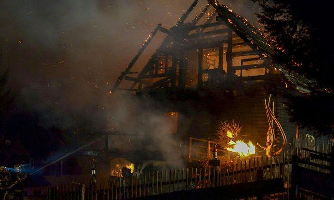Drei Menschen sind bei dem Brand in der Weststeiermark gestorben.