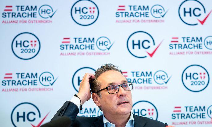 WIEN-WAHL: PK TEAM HC STRACHE 'AKTUELLE POLITISCHE THEMEN UND ANSTEHENDE WAHLKAMPFSCHWERPUNKTE'