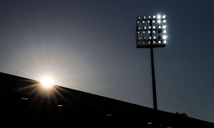 Archivbild: Das Stadion in Mattersburg