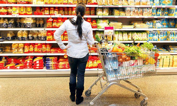 Supermarkt-Auswahl