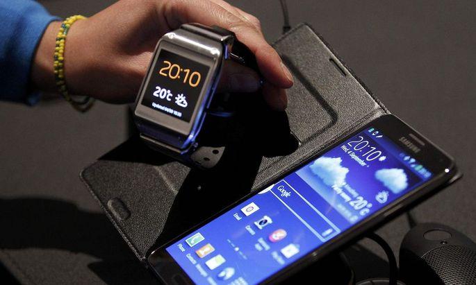 Samsung ist vor Apple mit seiner Smartwatch