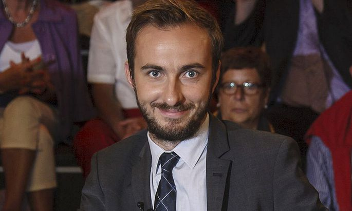 Boehmermann, host of the late-night ´Neo Magazin Royale´ on the public ZDF channel is pictured during a TV show in Hamburg