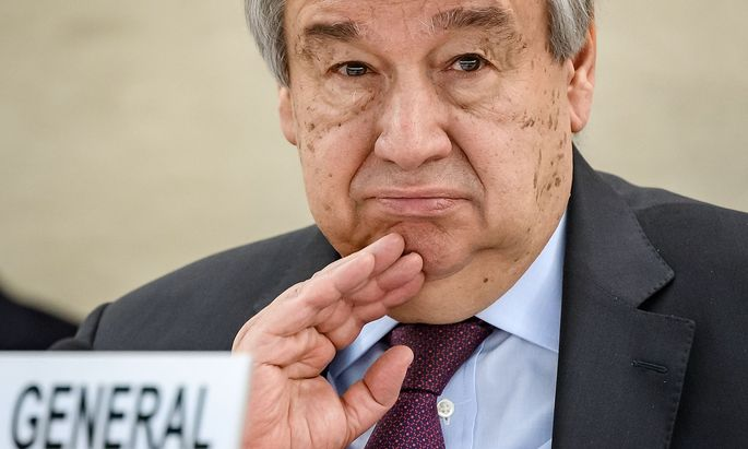 UN-Generalsekretär Antonio Guterres ist mit einer Krise zuletzt ungeahnten Ausmaßes konfrontiert.