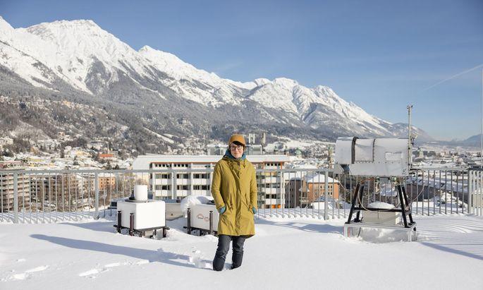 Ivana Stiperski arbeitet an einer universellen Formel für die Berechnung von atmosphärischen Turbulenzen.