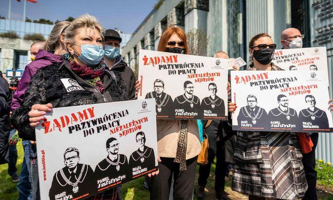 POLAND-POLITICS-RIGHTS-COURT-JUDICIARY-TULEYA