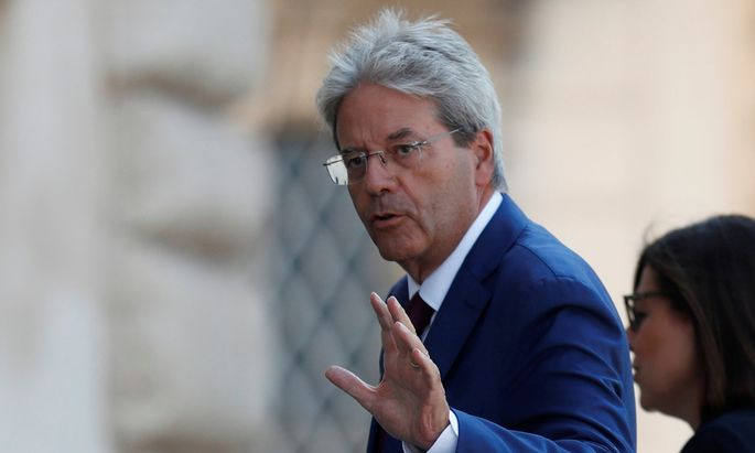 Italiens Ex-Premier Paolo Gentiloni.