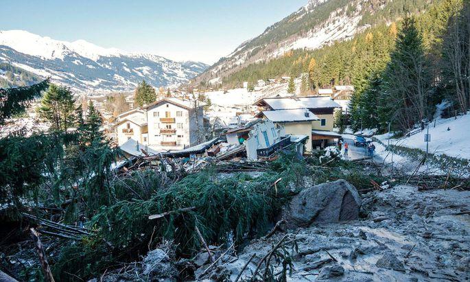 Ausnahmezustand in einem sonst idyllischen Ort namens Bad Gastein.