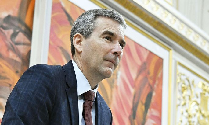 Finanzminister Hartwig Löger kann sich eine nationale Digitalsteuer vorstellen