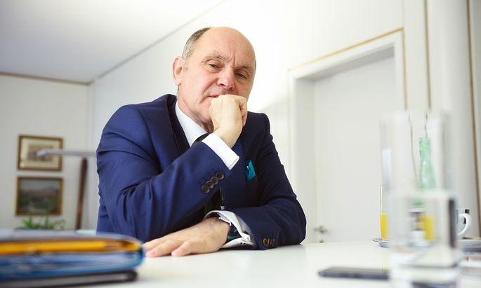 """Auf Gemeindeebene """"manifestiert sich Politik am deutlichsten"""", sagt Ex-Bürgermeister Wolfgang Sobotka."""