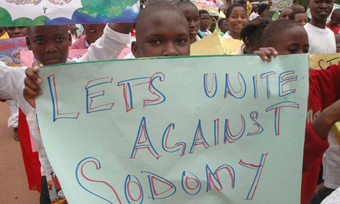 Kreuzzug gegen Homosexuelle Uganda