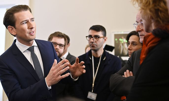 Bundeskanzler Sebastian Kurz (ÖVP) am Dienstag