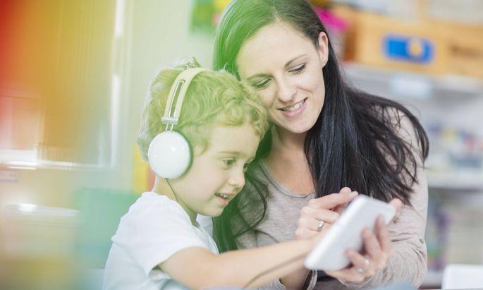 Das digitale Lernen soll bereits im Kindergarten beginnen (Symbolbild)