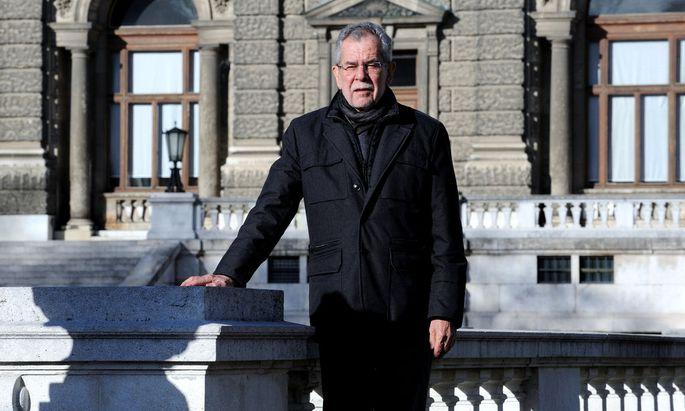 Alexander Van der Bellen: ein Grüner mit Chancen auf das Präsidentenamt.