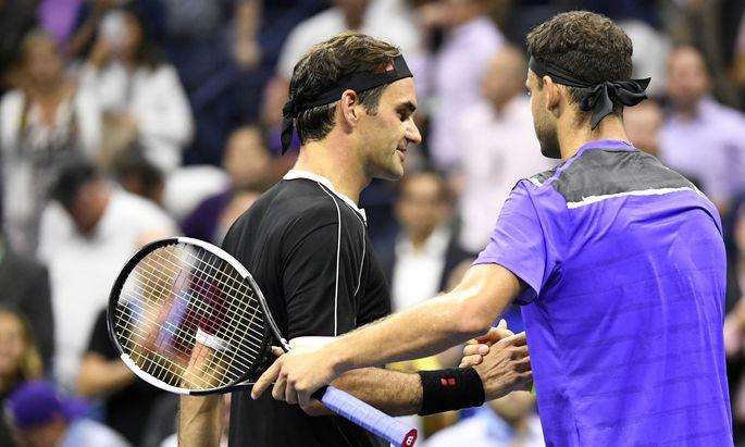 Roger Federer verlor ggen Grigor Dimitrow in fünf Sätzen