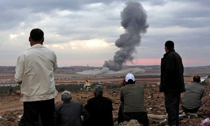 Symbolbild: Angriff des IS in Syrien