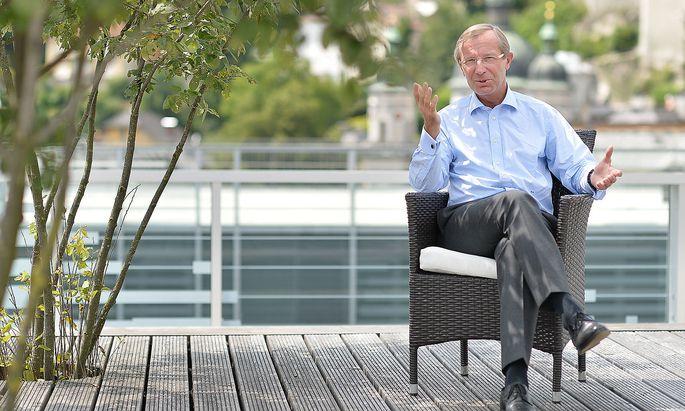 Wilfried Haslauer will eine Belvedere-Dependance.