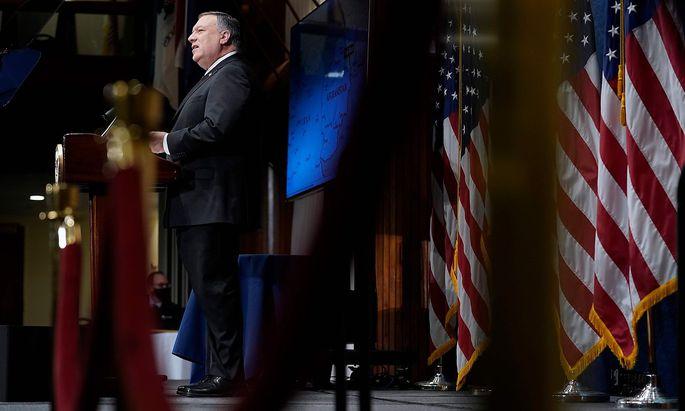 US-Außenminister Mike Pompeo sorgt mit seiner symbolischen Politik der Härte für Irritationen.