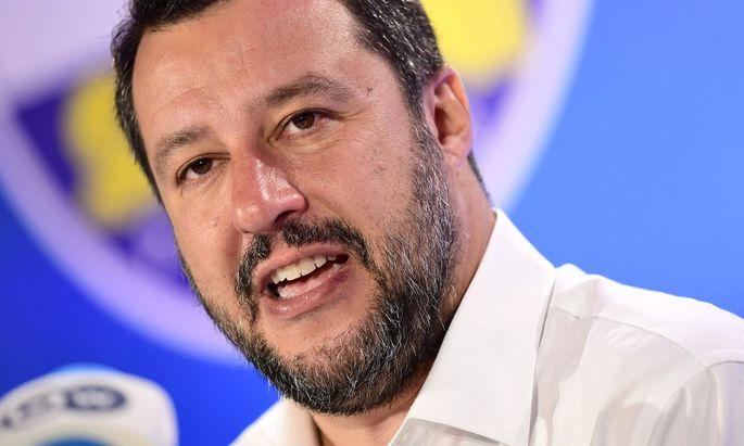 Matteo Salvini droht eine ernsthafte Glaubwürdigkeitskrise.