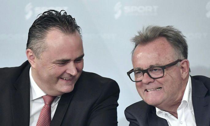 Hans Niessl (r.) wird zugunsten Hans Peter Doskozils schon bald in die zweite Reihe zurücktreten.