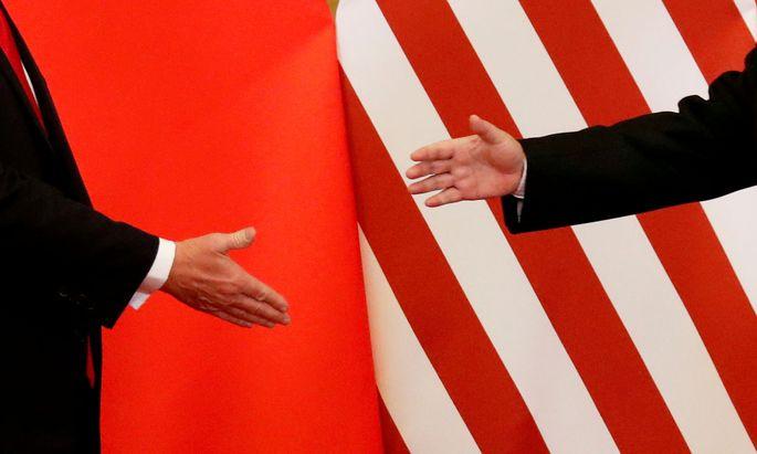 China und USA suchen den Handschlag