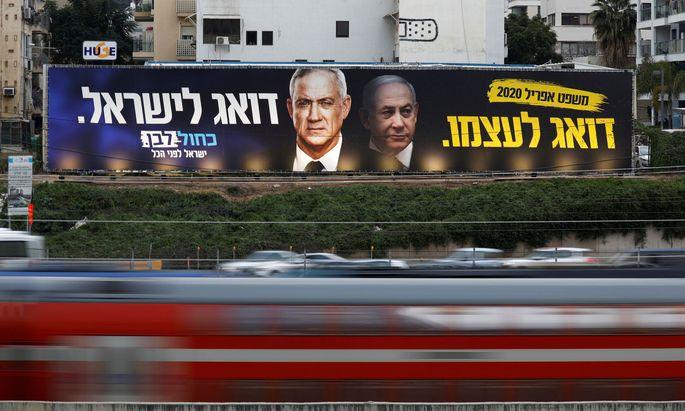 Gantz und Netanjahu haben sich doch noch auf eine Einheitsregierung geeinigt