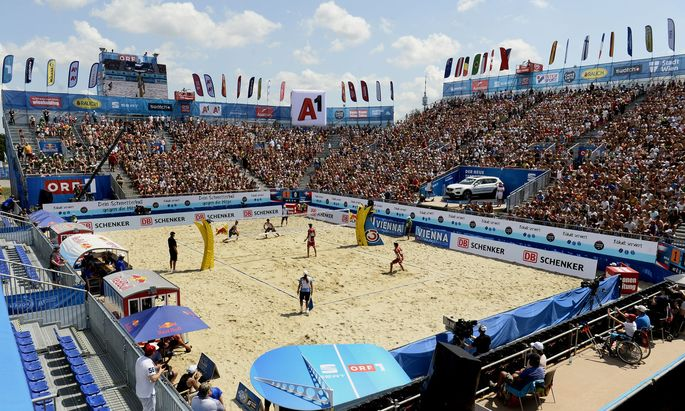 BEACH-VOLLEYBALL MAJOR SERIES TURNIER