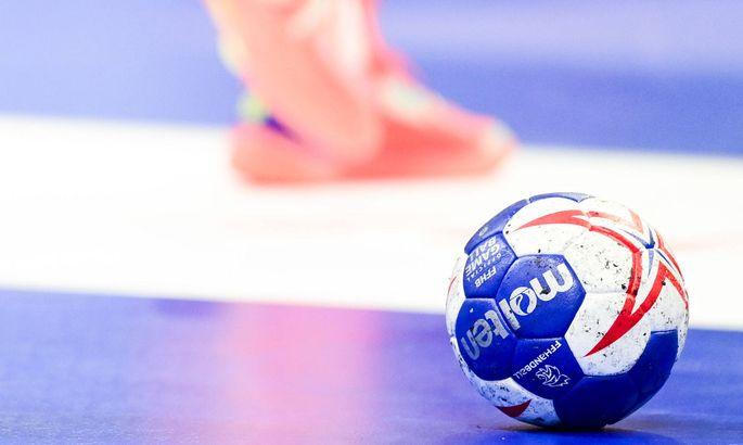 Handball, EM-Quali, Frankreich - Serbien Djordjic Petar (Serbie) HANDBALL : France vs Serbie - qualifications a l EHF EU