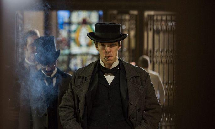 """Edison (hier gespielt von """"Sherlock Holmes""""-Darsteller Cumberbatch) entspricht nicht dem romantischen Bild des unschuldigen Genies."""