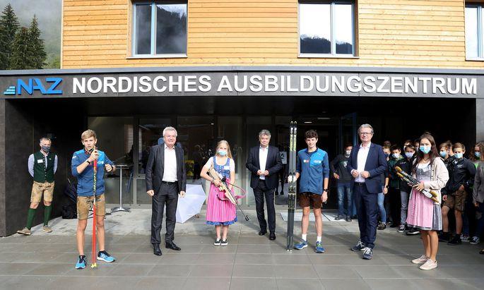 NORDIC SKIING - NAZ Sport-Campus, opening