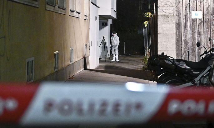 Das Opfer wurde in der Sechtergasse in Meidlung gefunden.