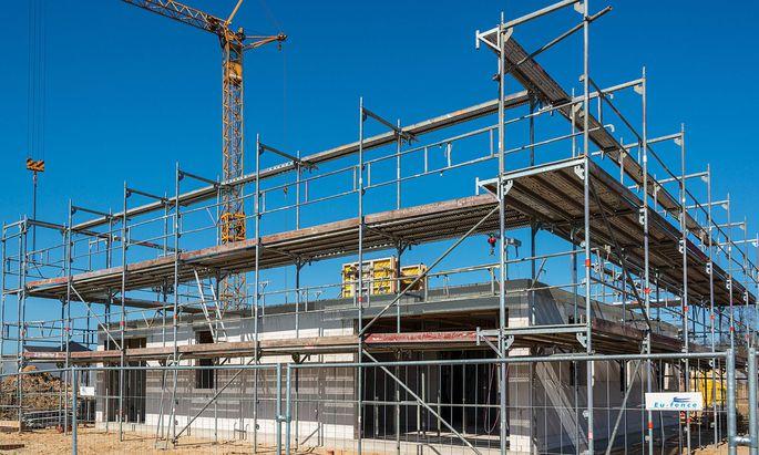 Neubaugebiet f�r Wohneigentum in einer gemischten Einfamilien- und Mehrfamilienhaus Variante *** New development area fo