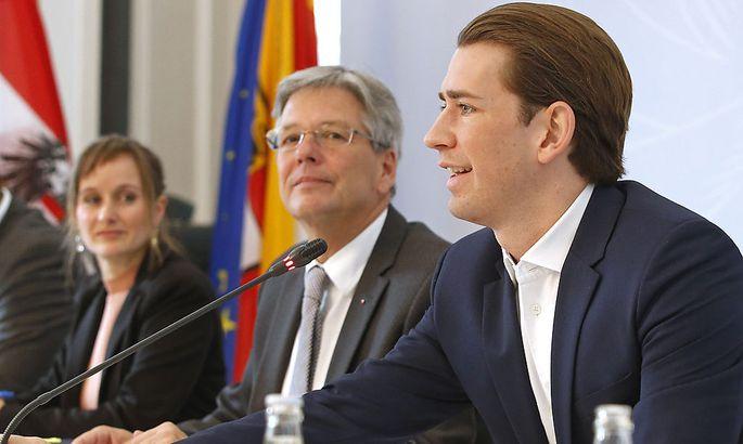 Landeshauptmann Kaiser und Integrationsminister Kurz
