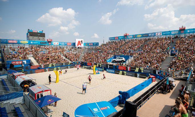 Beachvolleyball-Turnier 2019 auf der Donauinsel