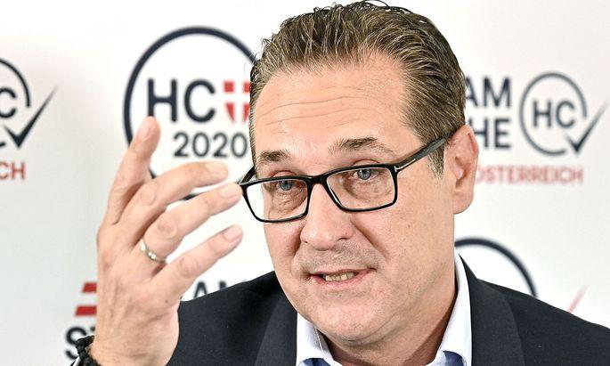 Die Debatte um Straches Kandidatur bei der Wien-Wahl am 11. Oktober ist nun geklärt.