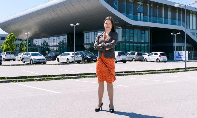 Für ihre Dissertation wurde Sabrina Luimpöck kürzlich mit dem Burgenländischen Hochschulpreis ausgezeichnet.