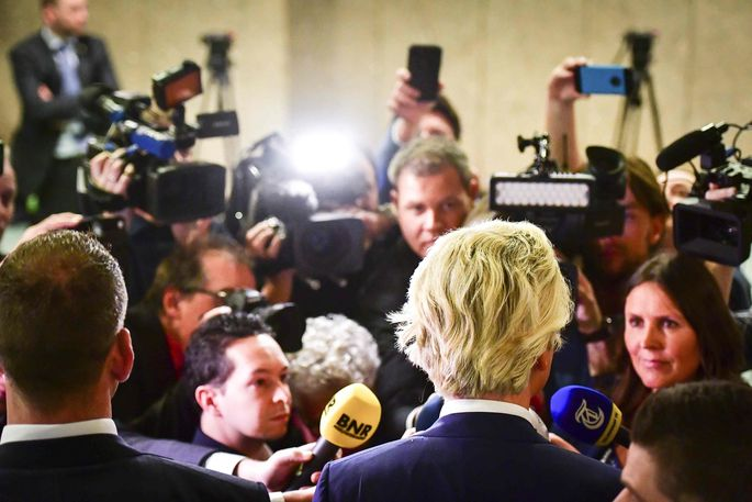 Geert Wilders blieb unter den Erwartungen