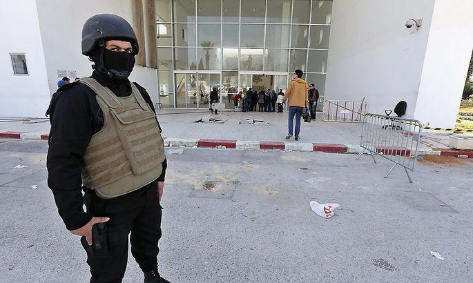 Das Nationalmuseum in Tunis nach den Anschlägen. Neun verdächtige Personen wurden verhaftet.