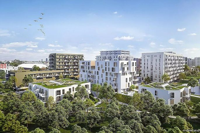 """Stadtentwicklungsprojekt """"Poldine und Selma am Park"""" im 21. Bezirk"""